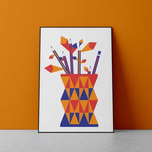 Pencil-flowervase©AnaKarinaPosadas